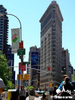 El Flatiron Building en Nueva York