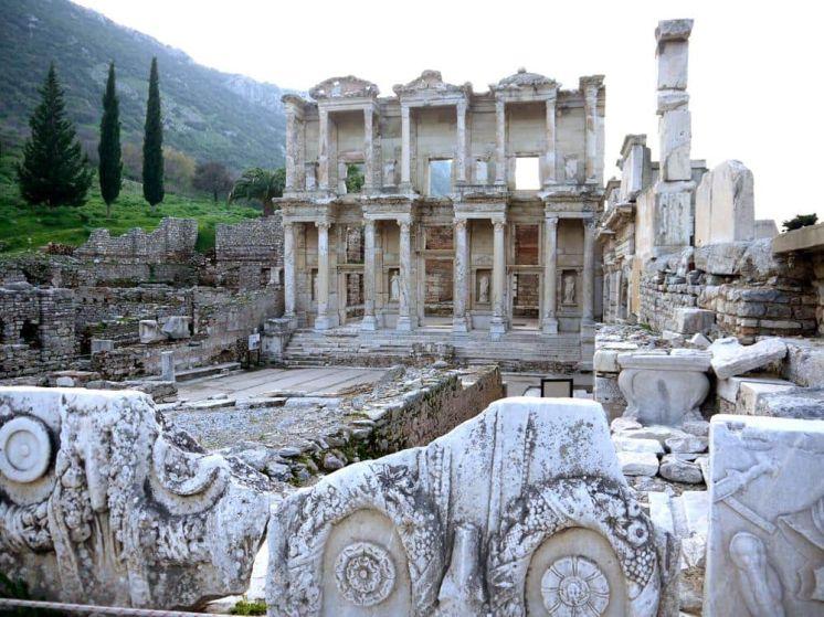 Biblioteca de Celso Efeso Turquia