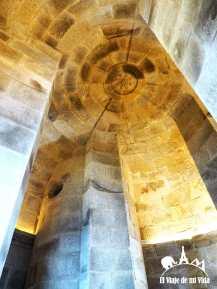 Interior de la época romana