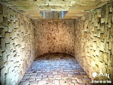 Interior de la Torre de Hércules
