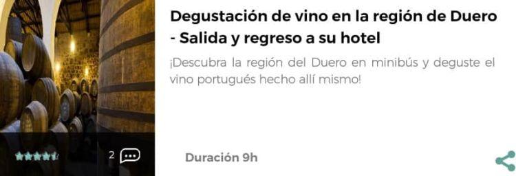 Visita a las bodegas de Oporto