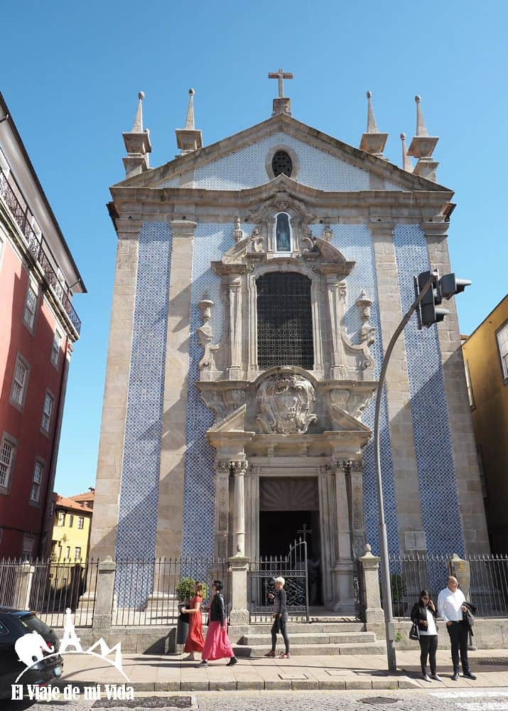 Iglesia de Sao Francisco en Oporto