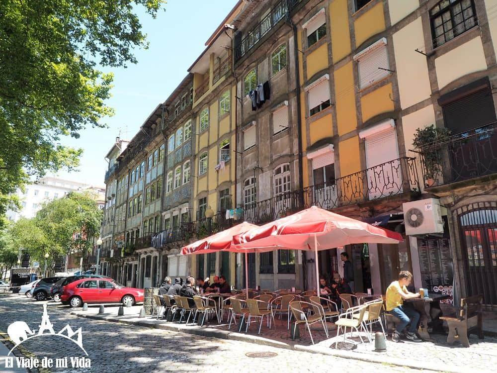 Paseo das Virtudes en Oporto
