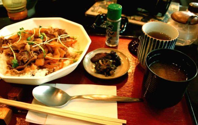 Comidita rica en Japón