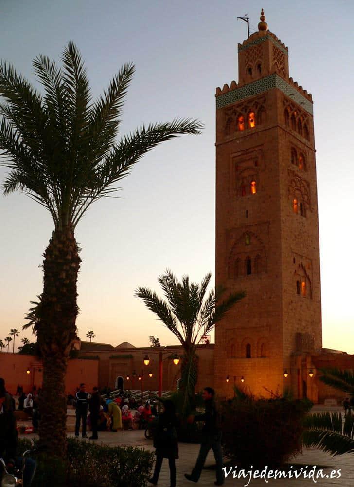 Mezquita Kutubia Marrakech Marruecos