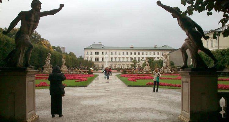 Castillo Mirabell Salzburgo Austria