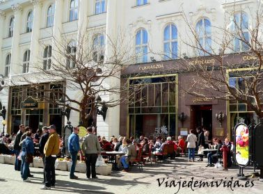 Gerbeaud Budapest Hungría