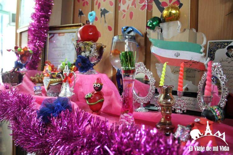 Adornos de fin de año persa