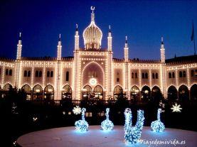 Jardines Tivoli Copenhague Dinamarca