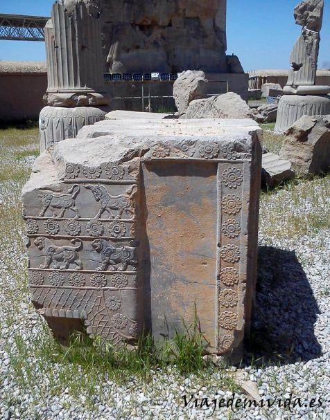 Grabados Persepolis Iran