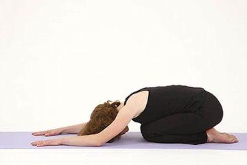 Postura Adho Mukha Virasana Yoga Viajeros