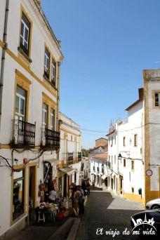 Calles Evora Portugal