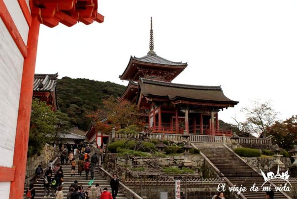 Complejo de Kiyomizu-dera Kioto Japón