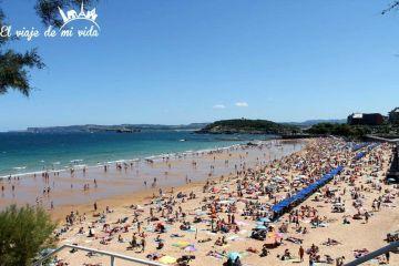 Playa Sardinero Santander Cantabria