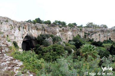 Oreja de Dionisio Siracusa Sicilia