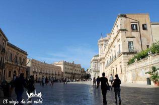 Plaza de la Catedral Siracusa Sicilia