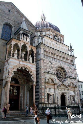 Basilica Santa Maria La Mayor Bergamo Italia
