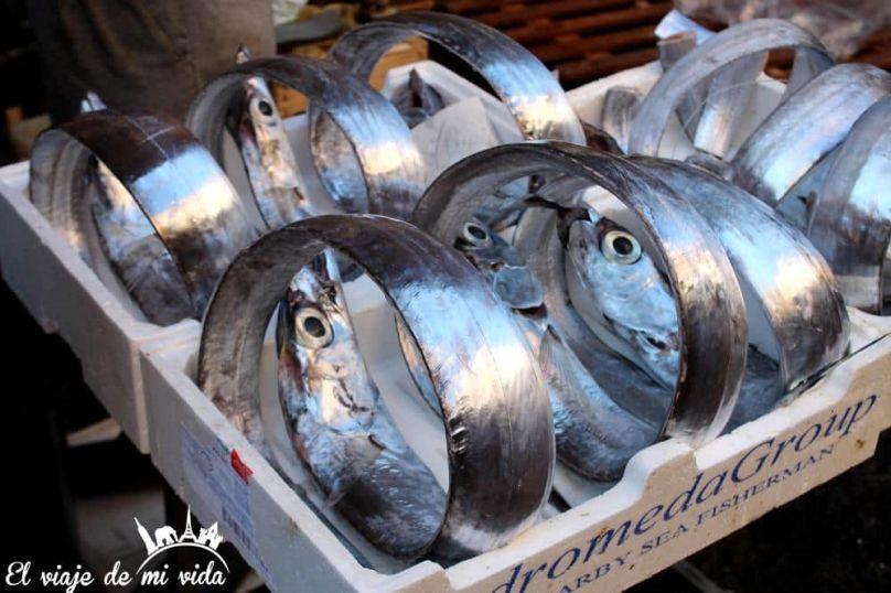 Mercado Pescado Catania Sicilia