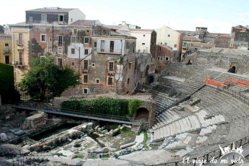 Teatro Romano Catania Sicilia