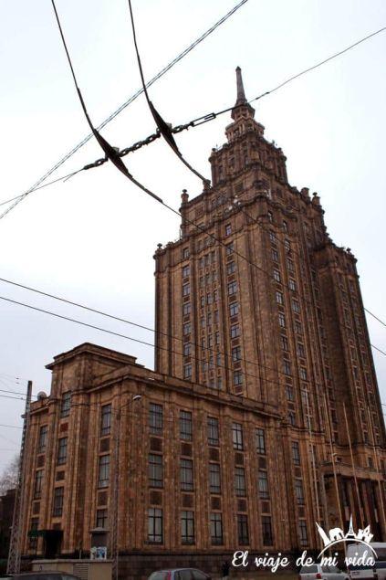 Academia Ciencias Riga Lituania