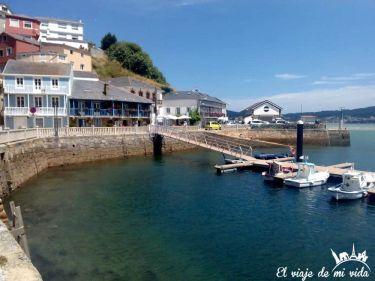 Puerto O Barqueiro Galicia
