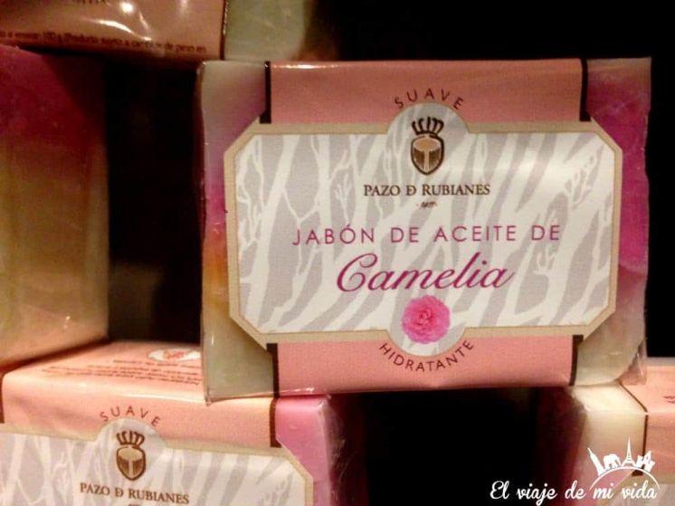 Jabón Pazo Rubianes Villagarcía Galicia