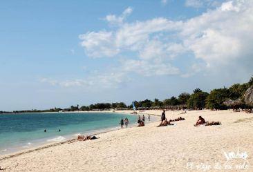 Playa Ancón Trinidad Cuba