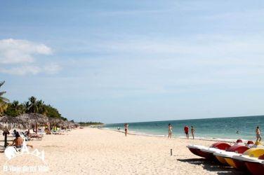 Playa Ancón a las afueras de Trinidad