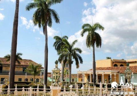 Plaza central de Trinidad