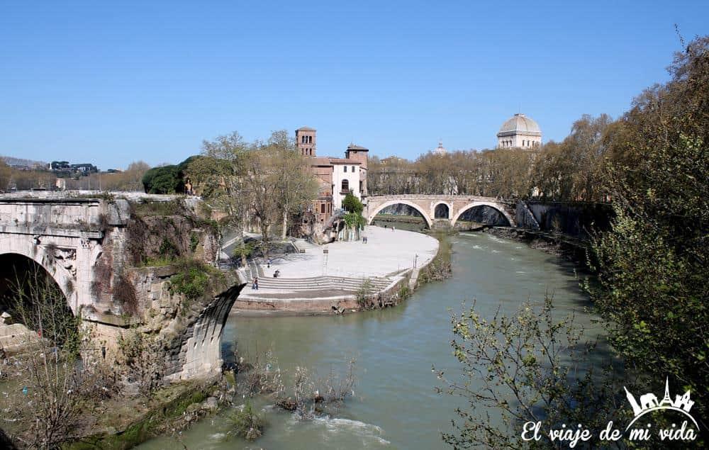 Isola Tiberiana en Roma