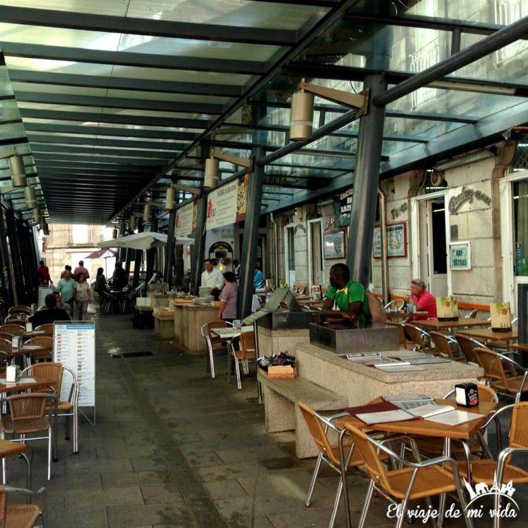 Mercado de A Pedra Vigo Galicia