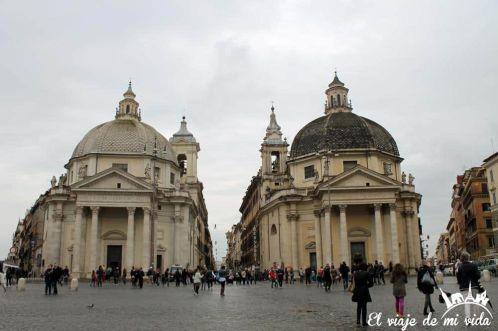 Piazzi di Popolo en Roma