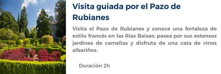 Visita al Pazo de Rubianes