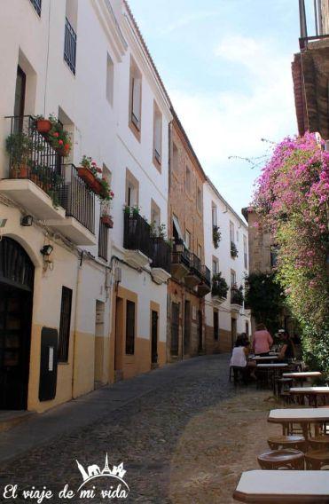 Calles de Cáceres