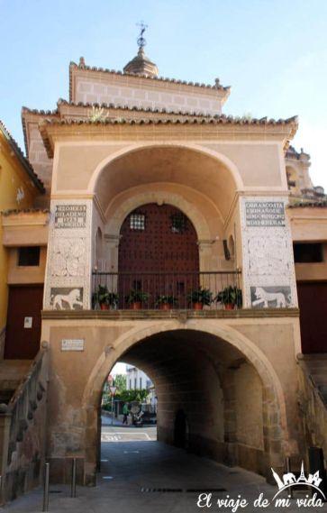 Puerta de Trujillo en Plasencia
