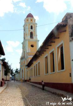 Calles de Trinidad en Cuba