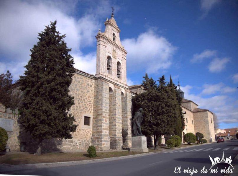 Museo de Santa Teresa en Avila, España