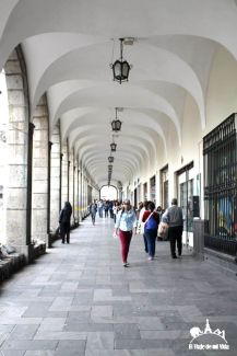 Portales de la Plaza Mayor
