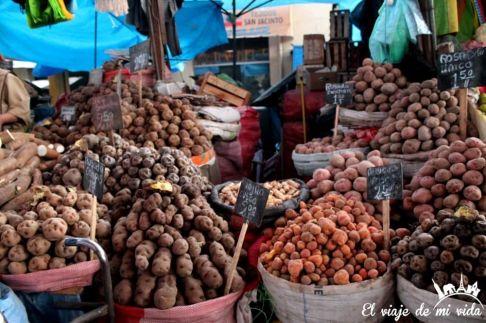 Mercado de Arequipa, Perú