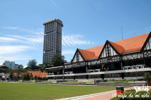 La Plaza de la Independencia de Kuala Lumpur