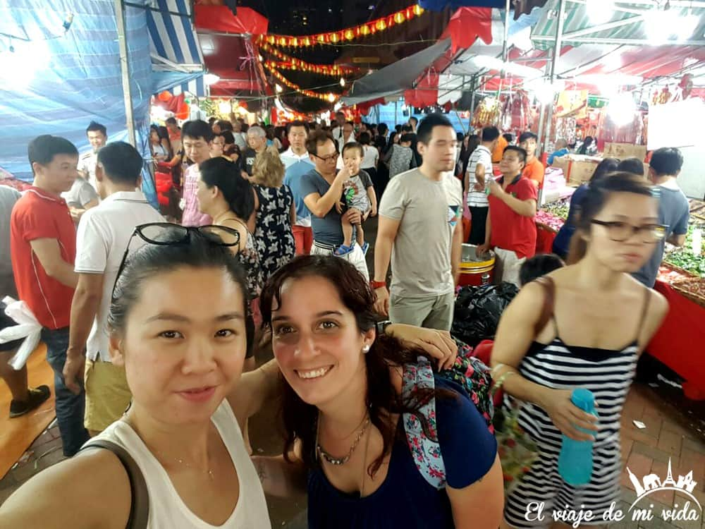Año nuevo chino en Singapur