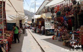Mercado artesano de Pisac