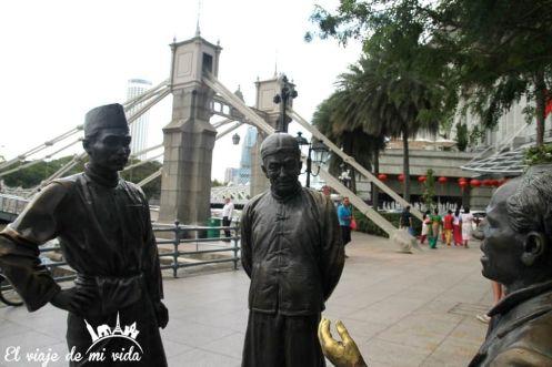 Raffles place en Singapur
