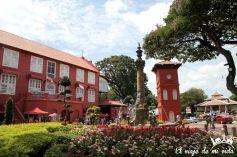 El barrio holandés en Malaca
