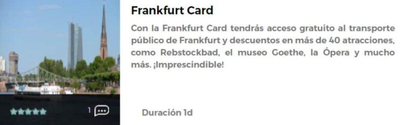 Frankfurt Card