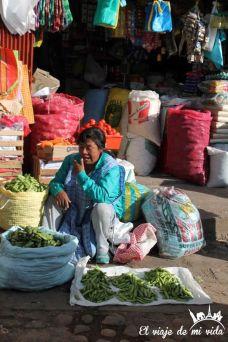 Mercado de Cusco, Perú
