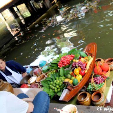 Mercado flotante de Bangkok