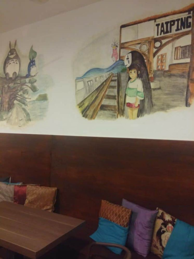 Cafetería del Sojourn en Taiping