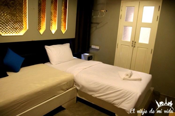 La habitación de diseño de Mee Tang Nang en Phuket