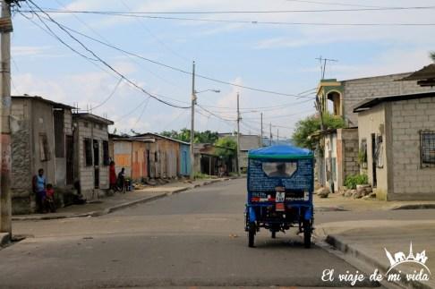 Barrio de Nigeria en Guayaquil, Ecuador